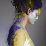 Lacey i kolorowy proszek