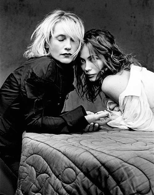 Huppert and Beart by Barry