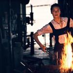 kobieta pracująca