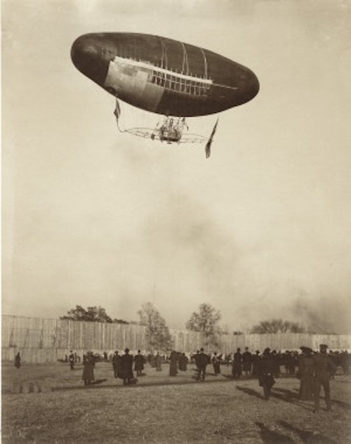 3JessieTarboxBeals_Francois Airship trial flight