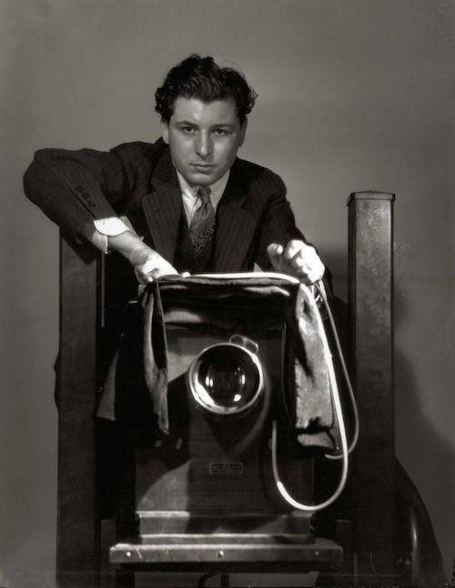 Hurrell self-portrait