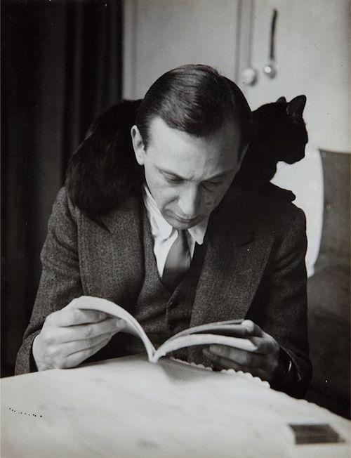 27 André Kertész self-portrait